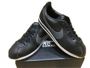 Mens Nike Cortez Trainers Size 10 Black VGC