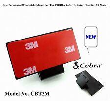 1. New Permanent Windshield Mount For The COBRA Radar Detector All Recent Models