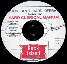 Rock Island Yard Clerical Manual  Pages on DVD