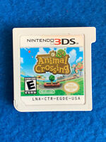 Animal Crossing: New Leaf (Nintendo 3DS, 2013) Authentic Cart Only Tested