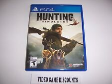 Original Box Case Replacement Sony PlayStation 4 PS4 HUNTING SIMULATOR