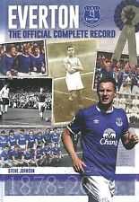 Everton - The Official Complete Record - Toffees History and Statistics book