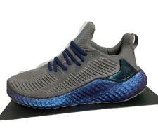 RARE! NEW Men Adidas Alphaboost Alpha Boost NASA Running Shoes Gray EG1440 Sz 12