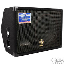 Yamaha BR12M Passive Unpowered Stage Monitor Cabinet, 300 Watts - BR12M