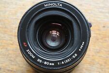 Minolta Af Sony A 35 80mm Zoom 1:4-5.6.