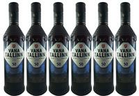 Vana Tallinn Rum Likör 6er Set (6 x 0,5L)  50% vol. Estland Spirituose SPARSET