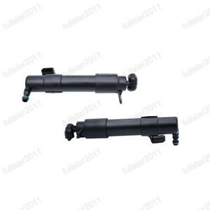 Headlight Washer Spray Head Lamp Nozzle Jet Pair for Benz W211 2007-2009