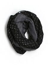 Women Lululemon Vinyasa Scarf Fleece/Cotton Simply Lace Black Gray NON STRETCHY