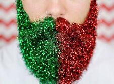 10 POTS OF CHRISTMAS BEARD GLITTER MENS FESTIVE SPARKLY PRESENT FACE BODY