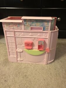 Barbie Bath And Bubble House-not Complete, Great For Dioramas