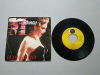 0920- MADONNA LA ISLA BONITA ESPAÑA 1987 PROMO SINGLE VIN 7 POR F DIS G+