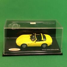 Vitesse 35701. 1:43 2000 TVR Tuscan Yellow Open MINT BOXED 1of 2400  #2#205