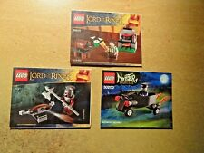 LEGO  MINI INSTRUCTIONS ONLY NUMBERS 30210/30200 AND 30211