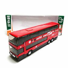 Welly 1:64 Die-cast Mercedes-Benz MB 0 404 DD Super Coach Express Bus Red Model