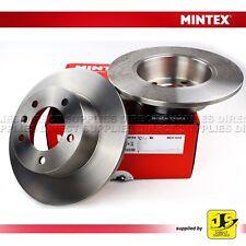 OPEL FOR RENAULT MASTER II VAUXHALL MOVANO  MINTEX REAR BRAKE DISCS MDC1539 PAIR