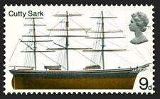 'Cutty Sark' illustrated on 1968 stamp