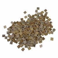 365 ct Scrabble Letter Pieces Various Quantities of Each Letter Wood Tiles Craft