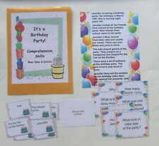 Teacher Made Reading Resource Comprehension Center Game Facts & Details
