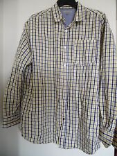 MARK ECKO Cut & Sew Men's Plaid Shirt Size 3XB 100% Cotton