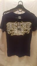 METAL MULISHA WOMENS PROPS T SHIRT UK 8 US SIZE SMALL
