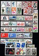 FRANCE 1961 Année Complète 44 Timbres neufs ★★ luxe / MNH