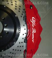 Alfa Romeo Superior Cast Brake Caliper Decals Stickers Mito Giulia Giulietta 4C