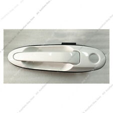 LH FRONT Door Outside Handle White o For Land Cruiser LC100 Lexus LX470 98-07