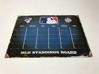 """Party Animal MLB Standings Board Metal Sign 18""""x13"""""""