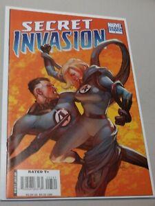 Secret Invasion #5 (Oct 2008, Marvel) [Leinil Francis Yu Variant] High Grade