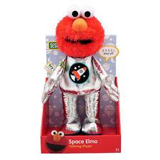 Space Elmo Talking Plush Soft Toy Sesame Street Astronaut