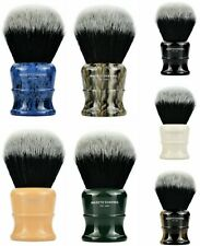 MASETO Classic 26&30mm 7-Color Luxury Silvertip 2Band Synthetic Shaving Brush