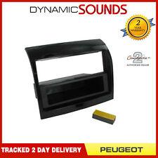 CT24PE15 CD Stereo Gloss Black Fascia Surround Adaptor For Peugeot Boxer 2011-14