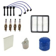 Tune Up Kit with Spark Plugs Wire Set and Filters Fits Hyundai Elantra 2008-2009
