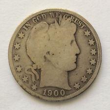 1900-O Barber Silver Half Dollar U.S. Coin A4768