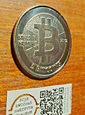 Casascius Bitcoin  Bitnickel.  No BTC value.  Authentic item w/pub./priv. key
