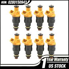 8PCS SET Flow Matched Fuel Injectors Ford 4.6 5.0 5.4 5.8L Replaces # 0280150943