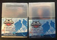 CHAMPIONSHIP HOCKEY COLLECTION BOX! 2 BOX SET!