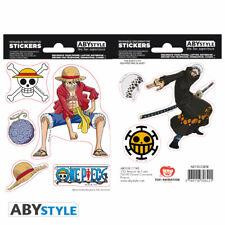 One Piece - Luffy & Law Mini Stickers