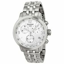 Tissot T0554171103700 PRC 200 Quartz Chronograph Men's  Silver Dial Watch
