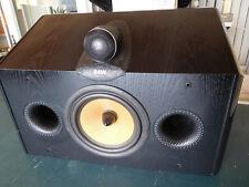 B&W CDM CNT Center Channel Speaker Black Nautilus Type Tweeter