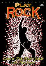 Play Rock (DVD, 2014) Learn to Play Rock Guitar * NEW *