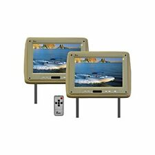 """Tview T110PLTAN Monitor 11.2"""" Widescreen Tan In Headrest;tview;remote"""