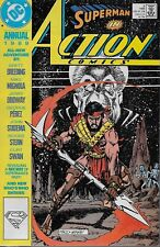 Action Comics Annual No.2 1989 Jerry Ordway George Perez Mike Mignola Curt Swan