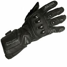 Richa Extreme GTX Gore-tex Waterproof Leather Textile Motorcycle Motorbike Glove Black S