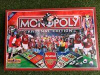 Monopoly Arsenal Edition Board Game- 100% Complete- 2002- Hasbro - VGC Football