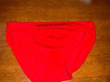 NEW Victoria Secret Seamless Bikini Red Logo XL sissy silky smooth support