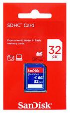 SanDisk 4GB 8GB 16GB 32GB SD SDHC Standard Class 4 Flash lot Memory Card
