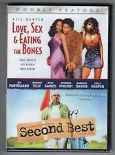 LOVE, SEX & EATING THE BONES + SECOND BEST new dvd COMEDY DOUBLE FEATURE