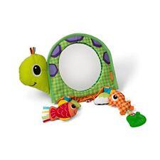 Espejo Para Bebé En El Auto Actividades De Estimulación Juegos Descubrir