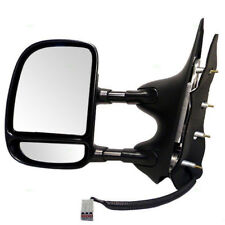 09-21 E-Series Van Tow Mirror Power Non-Heated Telescoping Dual Swing Left Side